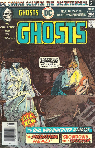 Cover for Ghosts (DC, 1971 series) #48