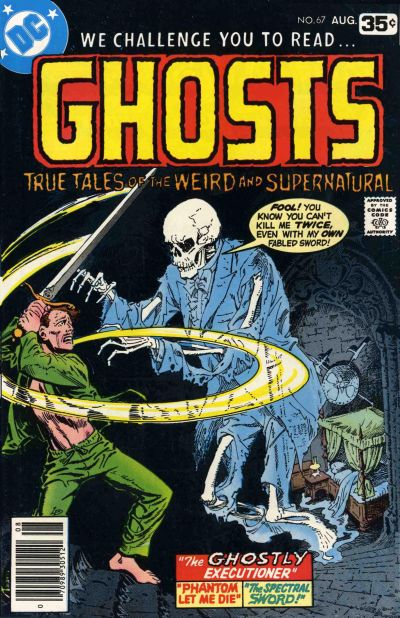 Cover for Ghosts (1971 series) #67