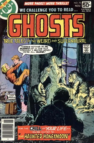 Cover for Ghosts (1971 series) #70