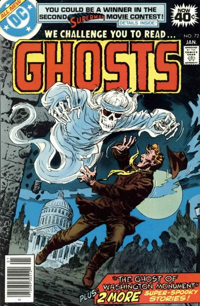 Cover for Ghosts (1971 series) #72