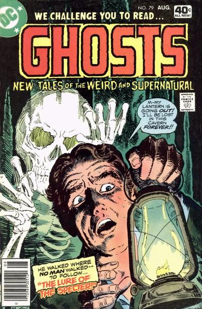 Cover for Ghosts (1971 series) #79