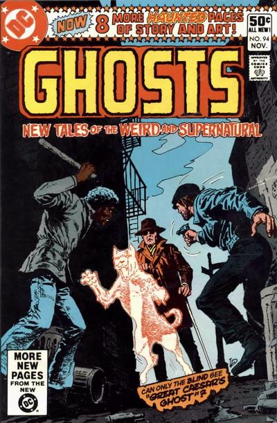 Cover for Ghosts (1971 series) #94