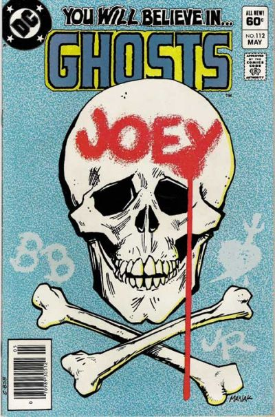 Cover for Ghosts (1971 series) #112
