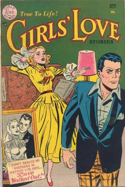 Cover for Girls' Love Stories (DC, 1949 series) #17