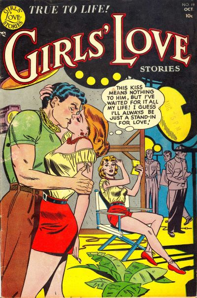Cover for Girls' Love Stories (DC, 1949 series) #19