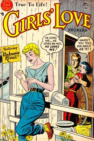 Cover for Girls' Love Stories (DC, 1949 series) #32