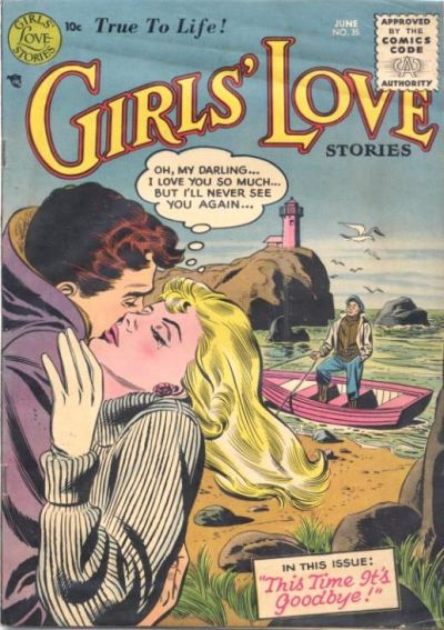 Cover for Girls' Love Stories (DC, 1949 series) #35