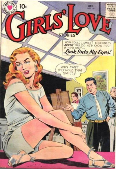 Cover for Girls' Love Stories (DC, 1949 series) #59