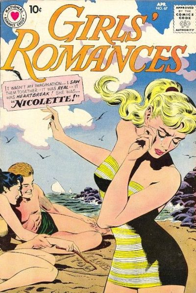 Cover for Girls' Romances (DC, 1950 series) #67