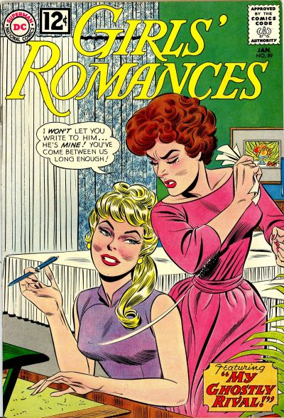 Cover for Girls' Romances (DC, 1950 series) #89