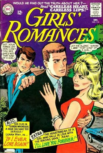 Cover for Girls' Romances (DC, 1950 series) #113