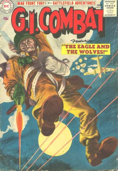 Cover for G.I. Combat (DC, 1957 series) #44