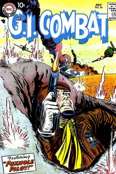 Cover for G.I. Combat (DC, 1957 series) #50