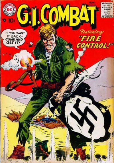 Cover for G.I. Combat (DC, 1957 series) #54
