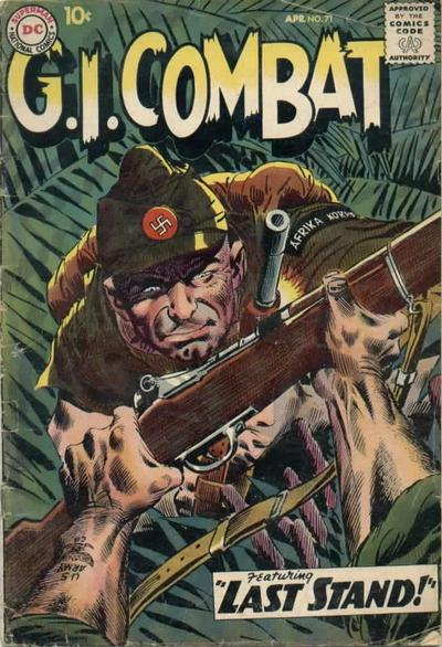 Cover for G.I. Combat (DC, 1957 series) #71