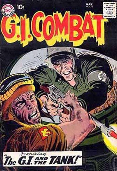 Cover for G.I. Combat (DC, 1957 series) #72