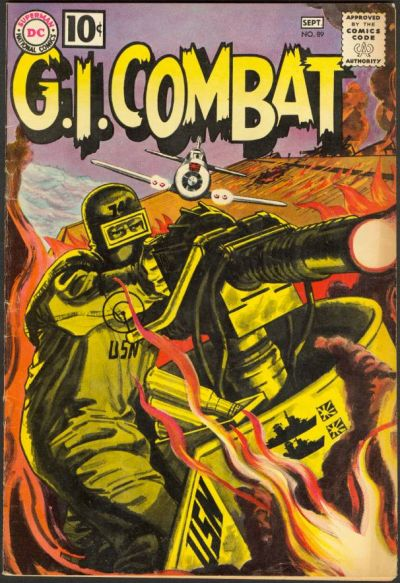 Cover for G.I. Combat (1957 series) #89