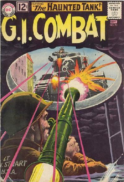 Cover for G.I. Combat (1957 series) #95