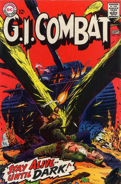 Cover for G.I. Combat (DC, 1957 series) #125