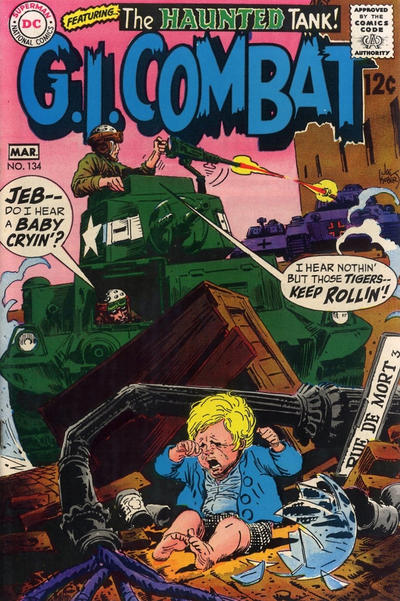 Cover for G.I. Combat (DC, 1957 series) #134