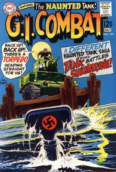 Cover for G.I. Combat (1957 series) #136