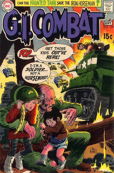 Cover for G.I. Combat (DC, 1957 series) #143