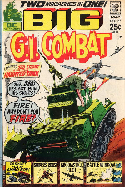Cover for G.I. Combat (DC, 1957 series) #147