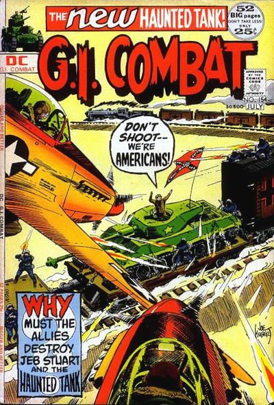 Cover for G.I. Combat (DC, 1957 series) #154