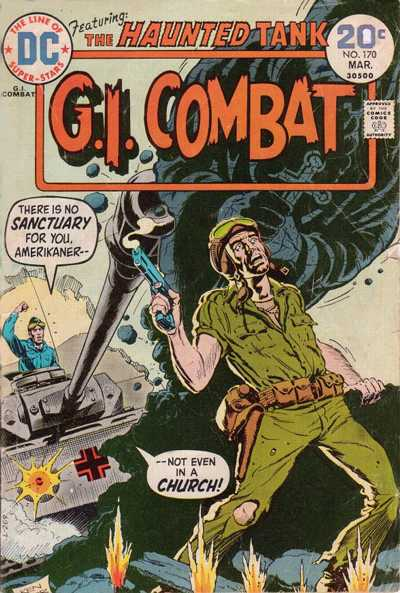 Cover for G.I. Combat (DC, 1957 series) #170