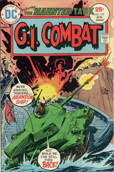 Cover for G.I. Combat (1957 series) #177