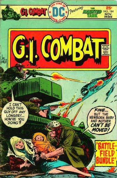 Cover for G.I. Combat (DC, 1957 series) #184