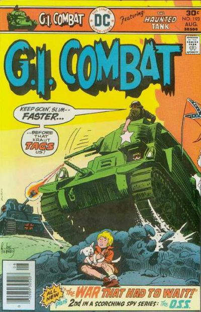 Cover for G.I. Combat (DC, 1957 series) #193