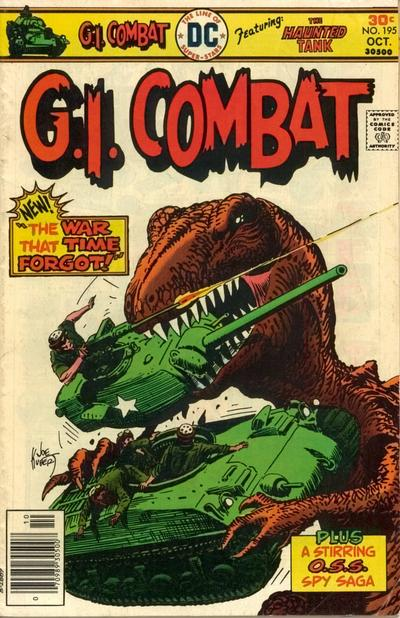 Cover for G.I. Combat (DC, 1957 series) #195