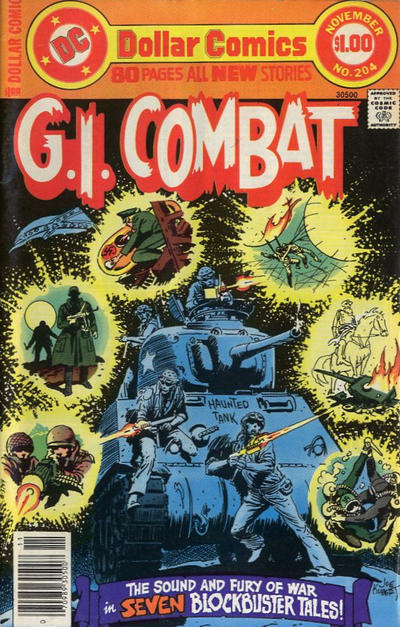 Cover for G.I. Combat (DC, 1957 series) #204