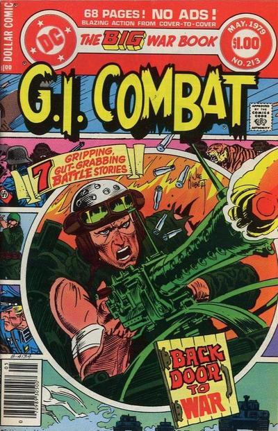 Cover for G.I. Combat (DC, 1957 series) #213