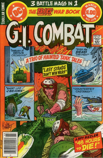 Cover for G.I. Combat (1957 series) #218