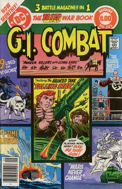 Cover for G.I. Combat (1957 series) #221