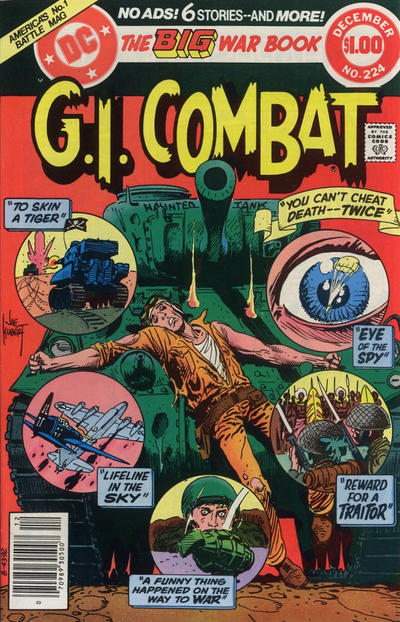 Cover for G.I. Combat (DC, 1957 series) #224