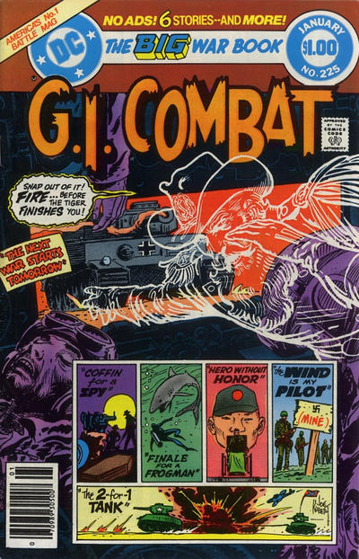 Cover for G.I. Combat (DC, 1957 series) #225