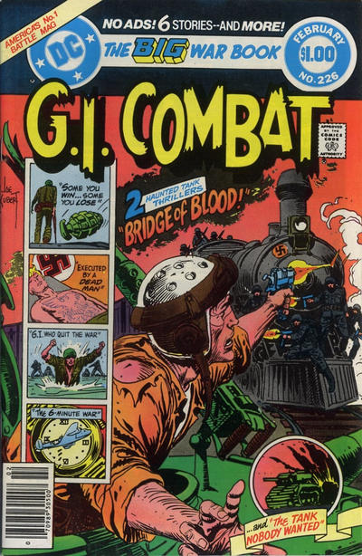 Cover for G.I. Combat (DC, 1957 series) #226
