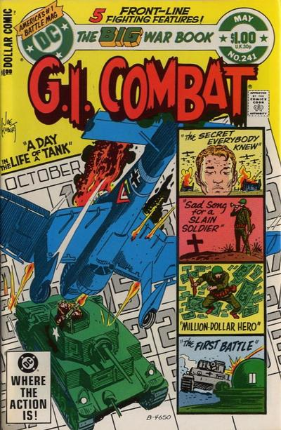 Cover for G.I. Combat (DC, 1957 series) #241