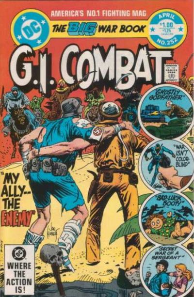 Cover for G.I. Combat (DC, 1957 series) #252 [Direct-Sales]
