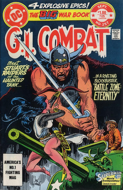 Cover for G.I. Combat (DC, 1957 series) #257 [Direct-Sales]