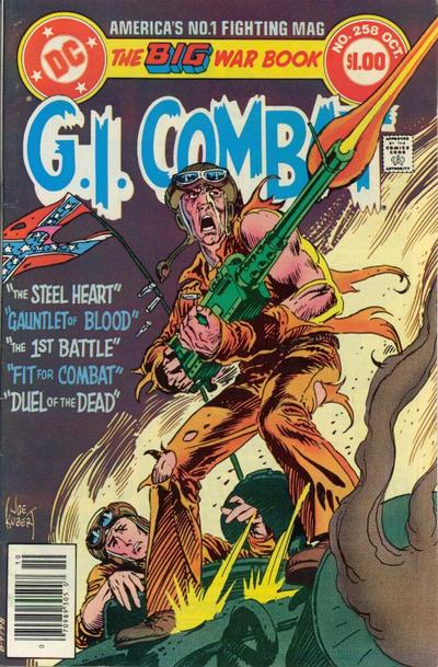Cover for G.I. Combat (DC, 1957 series) #258 [Direct-Sales]