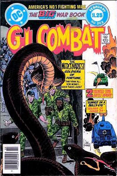 Cover for G.I. Combat (1957 series) #262