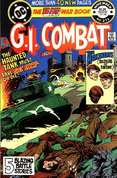 Cover for G.I. Combat (DC, 1957 series) #271 [direct-sales]