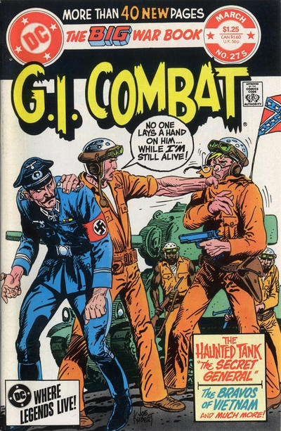 Cover for G.I. Combat (DC, 1957 series) #275
