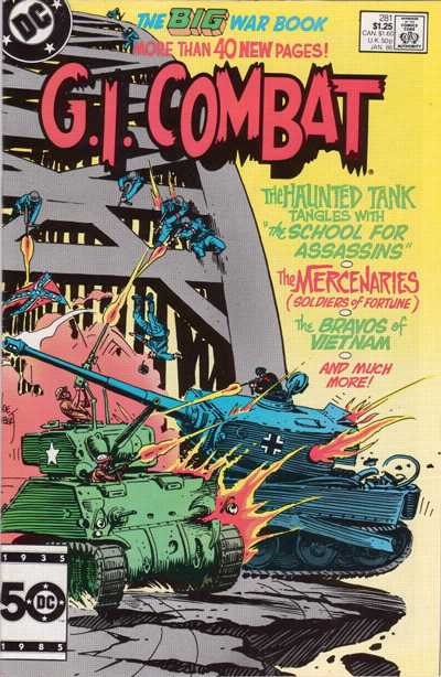 Cover for G.I. Combat (DC, 1957 series) #281