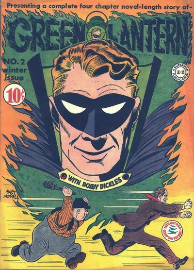 Cover for Green Lantern (1941 series) #2