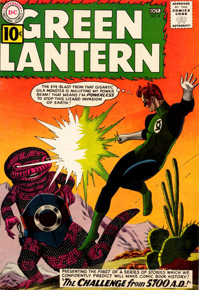 Cover for Green Lantern (1960 series) #8